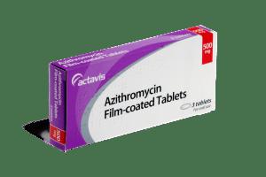 Azithromycine en boite