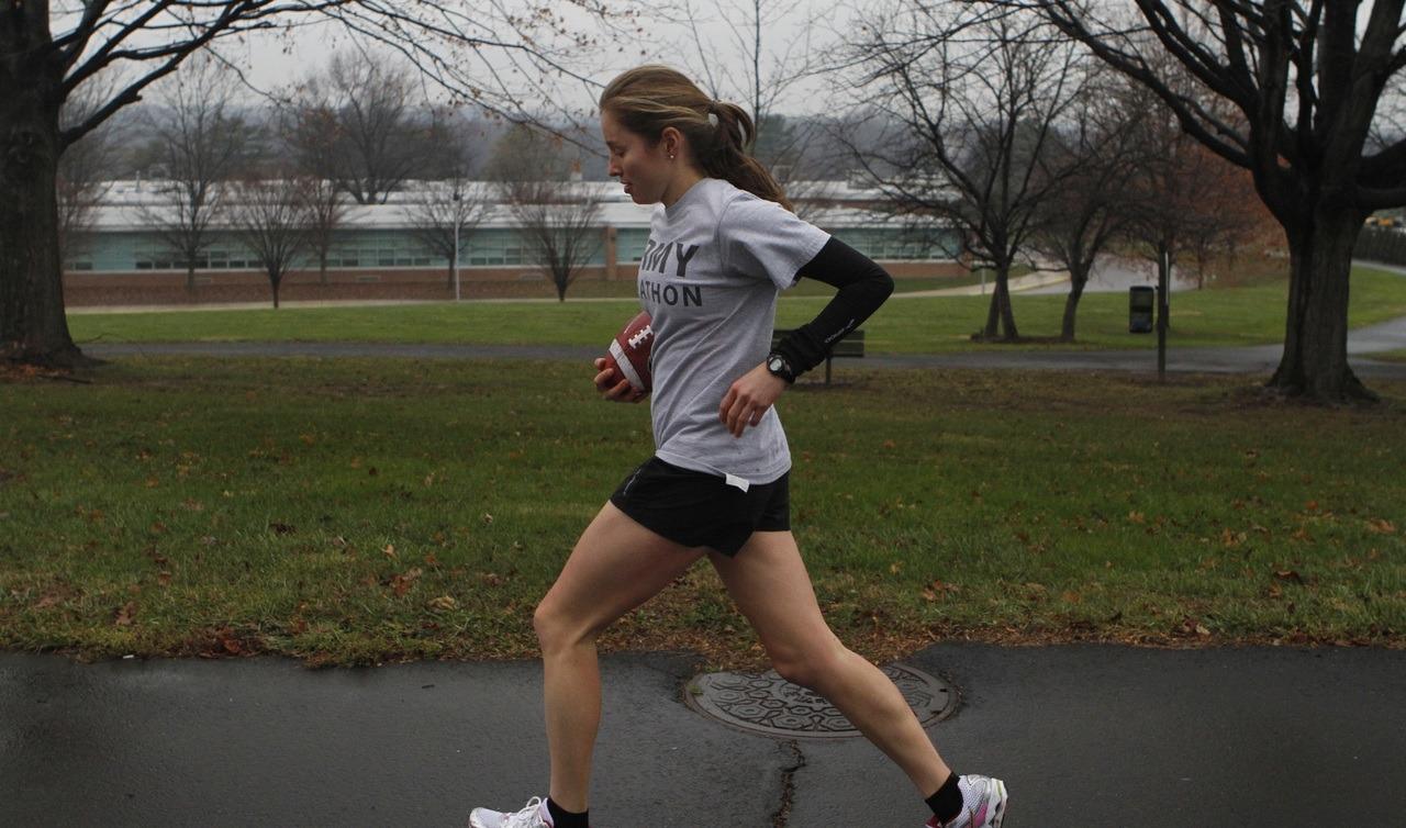 Faire du sport comme du footing permet de maintenir l'effet des gélules minceur