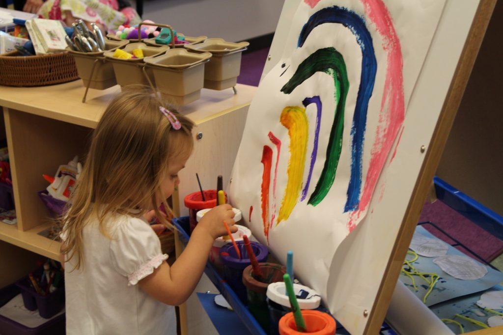 L'art-thérapie peut être préconisé pour les enfants