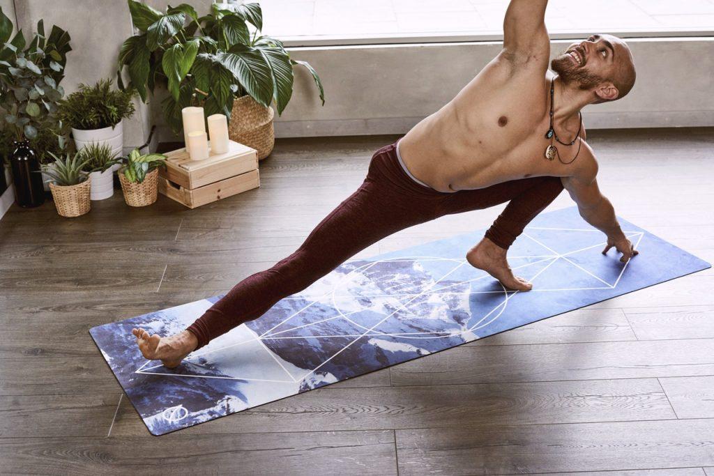 Pratiquant de la méthode Pilates