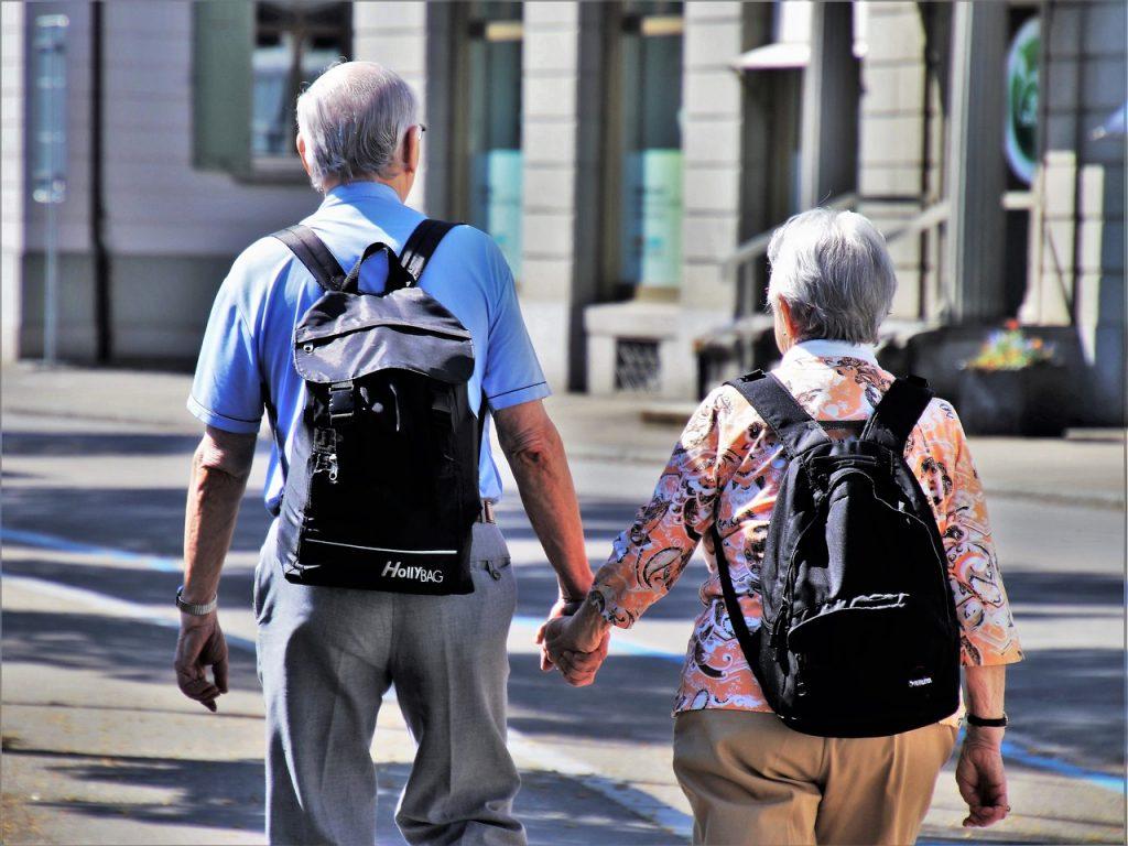 Seniors heureux