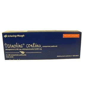 Boite de pilules Varnoline bleue