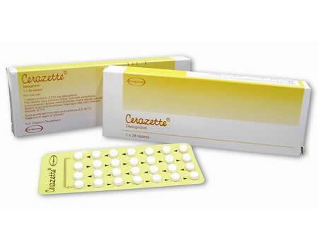 Boite et pilule Cerazette