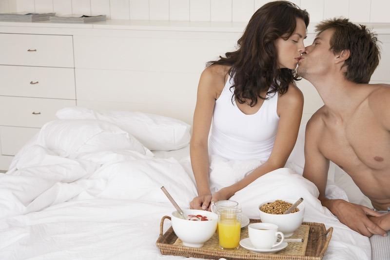 Un petit déjeuner au lit