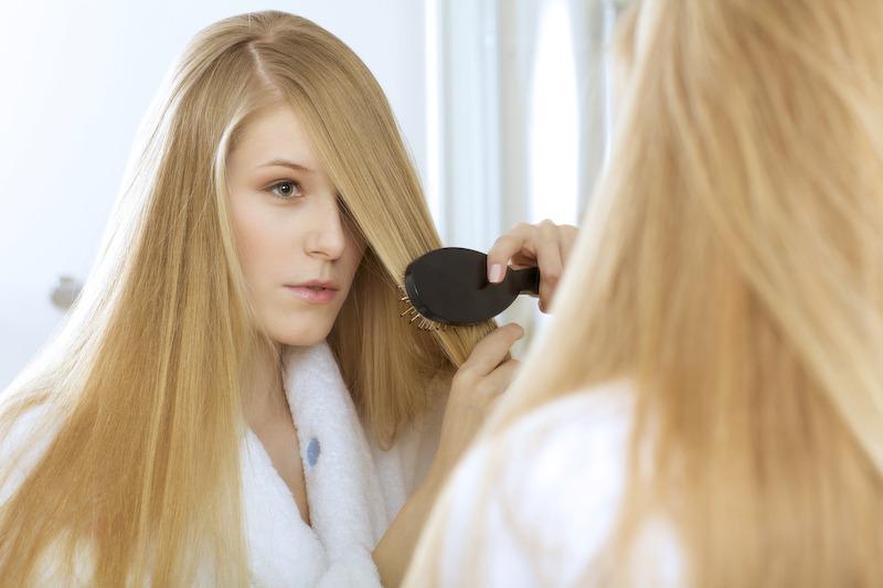 Le psoriasis peut toucher le cuir chevelu