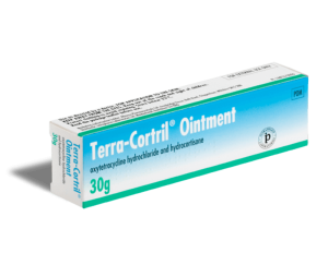 Terra-cortril, traitement contre l'eczéma