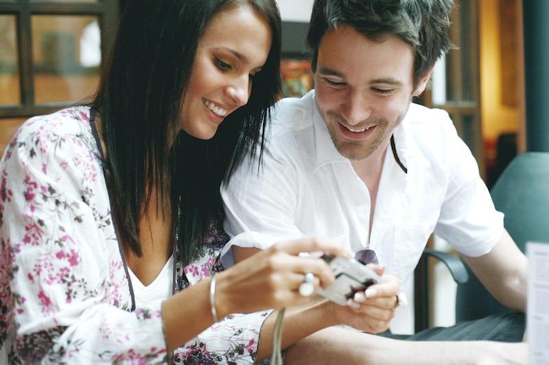 Couple en pleine discution