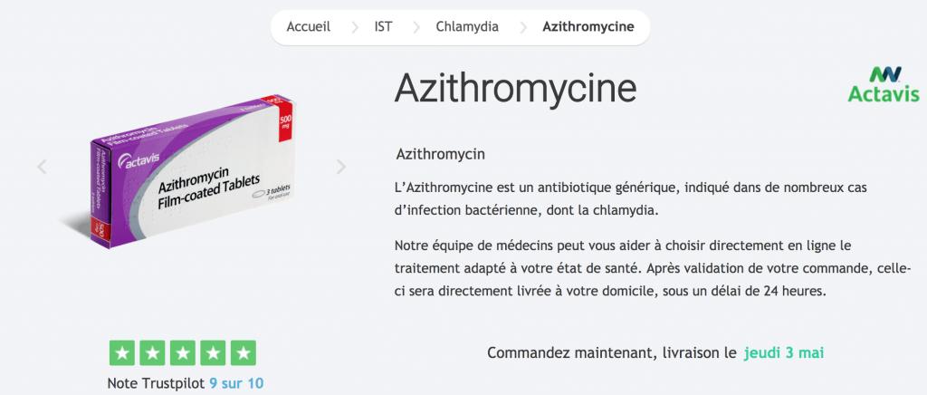 Avis positifs sur l'achat Aythromycine sur Truspilot : un gage de confiance et de qualité