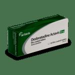 Boîte de Desloratadine, accessible sans ordonnance préalable