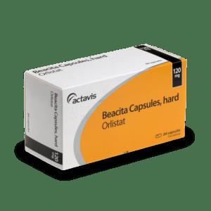 Boite d'Orlistat, un médicament pour maigrir efficace