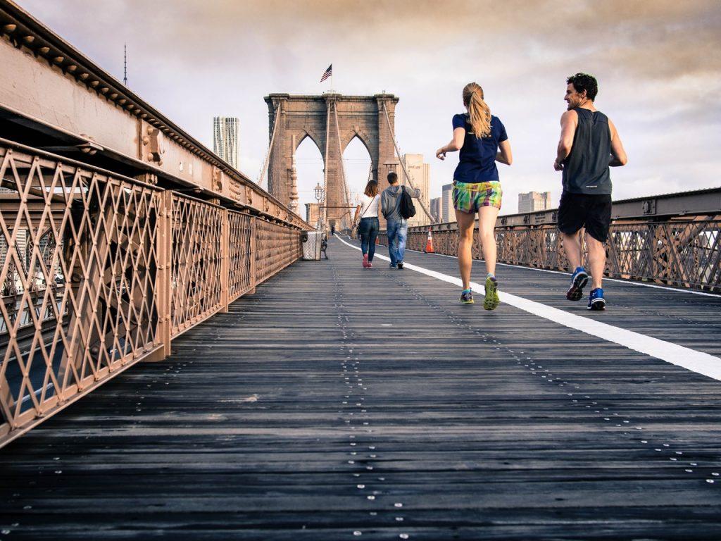 Footing et perte de poids