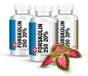 Forskolin prend la forme de comprimés