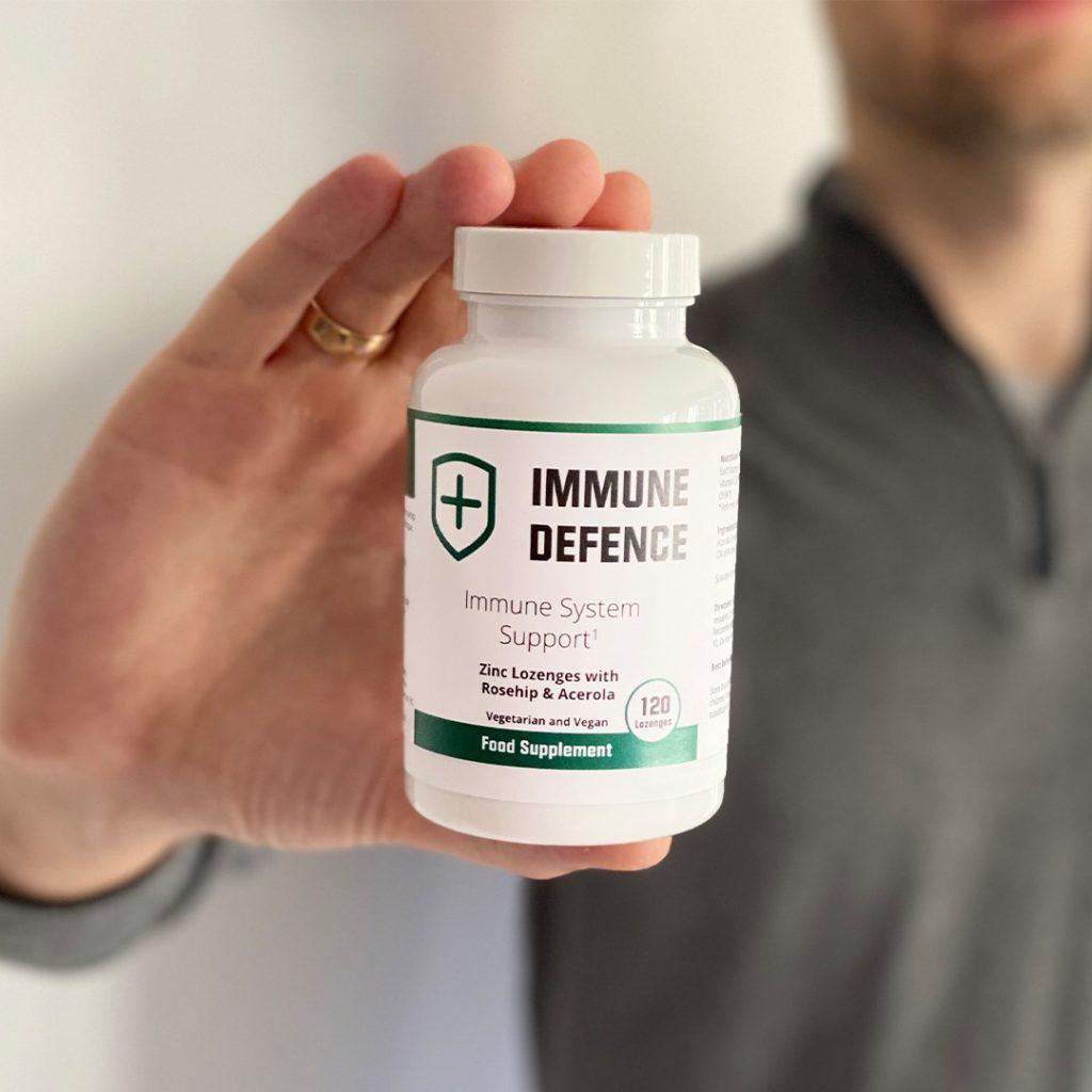 Boite de pastilles Immune Defence