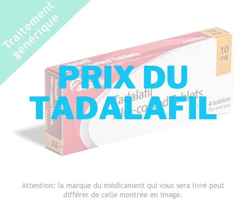 CIALIS _ Prix Tadalafil