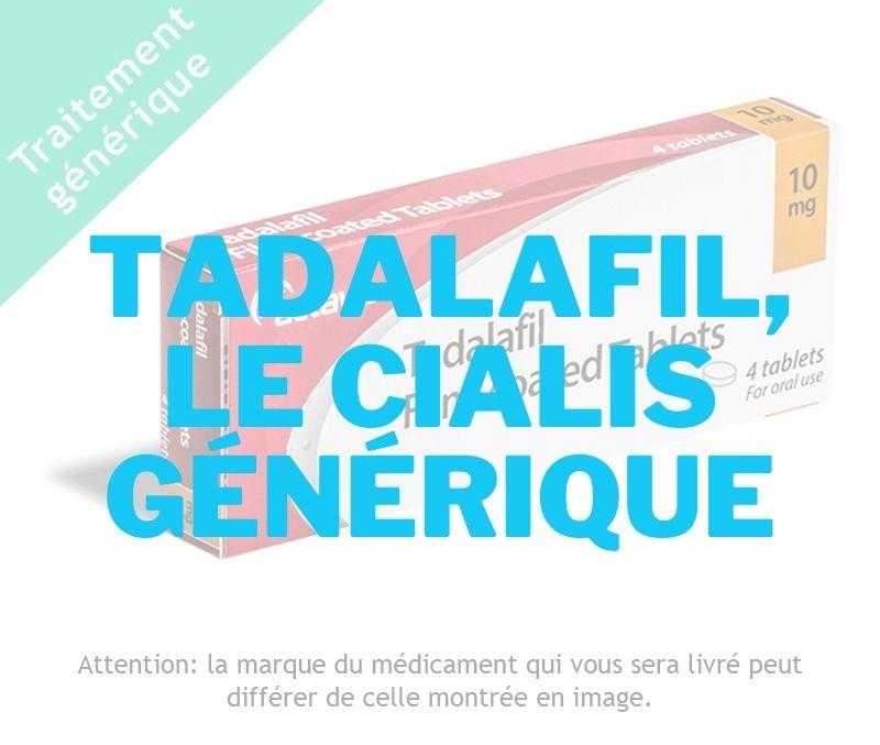 CIALIS _ Tadalafil, le cialis générique