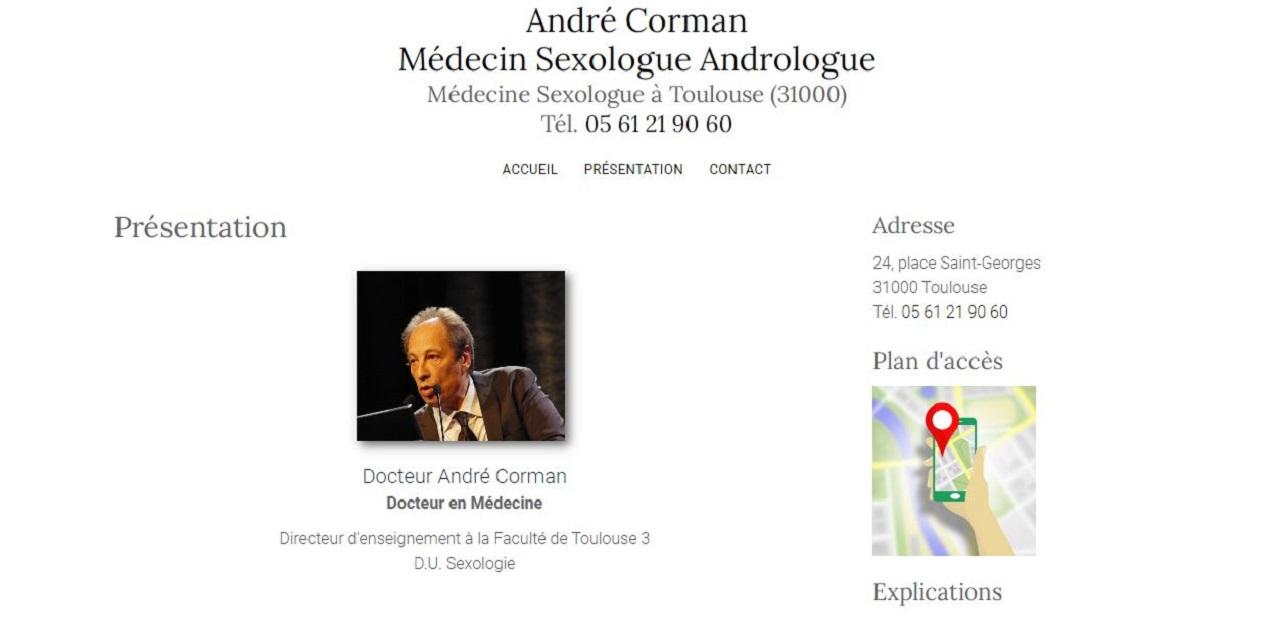 Dr André Corman
