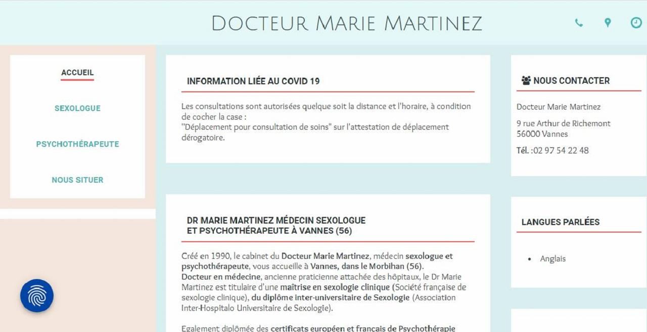 Dr Marie Louise Martinez