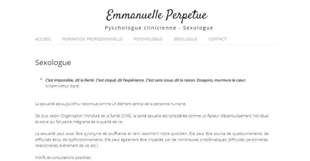 Emmanuelle Perpetue